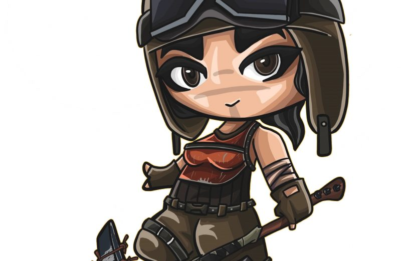 Fortnite cartoon chibi 1