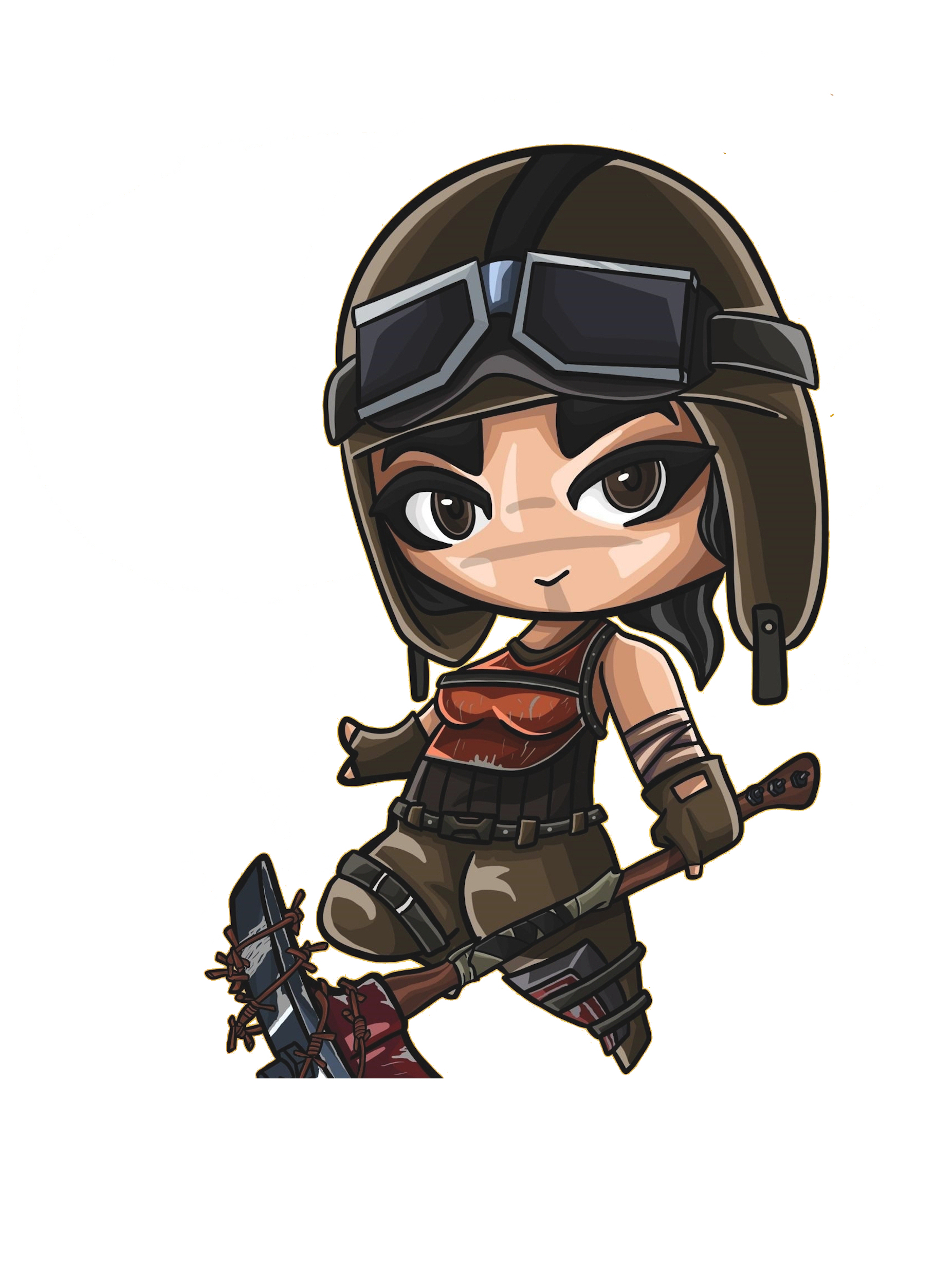 Renegade Raider Fortnite Skin Wallpaper