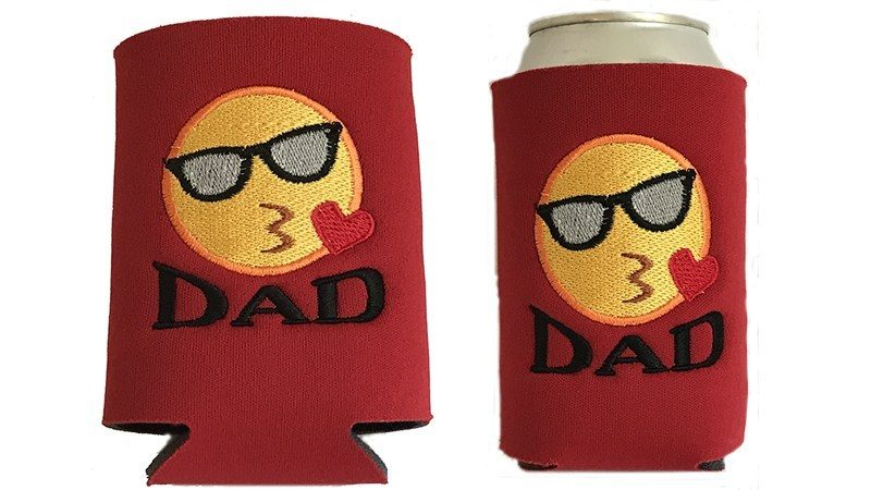 Embroidered Can Koozies