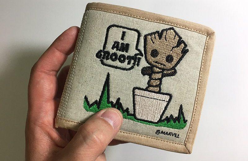 Tutorial: Dancing Baby Groot Billfold Wallet