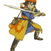 Embroidery Dragon Quest VIII Hero