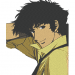 Anime Embroidery Cowboy Bebop Spike Pose