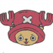 Anime Embroidery One Piece Tony Chopper Head
