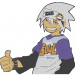 Anime Embroidery Soul Eater Evans Thumbs Up