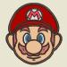 Embroidery Pattern Mario Face Applique